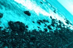 azzurro su mare