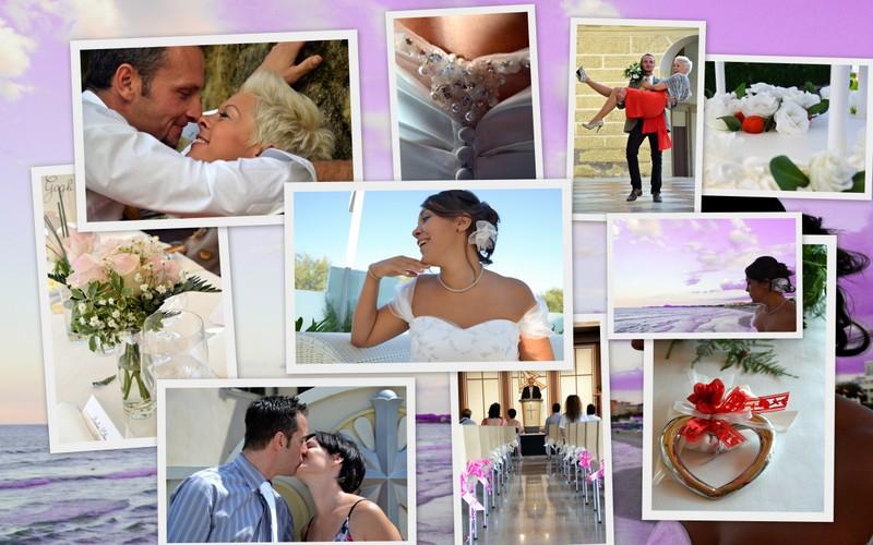 Foto di vari matrimoni
