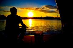 Pescatore, effetto sfumato