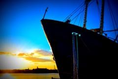 nave, effetto sfumato