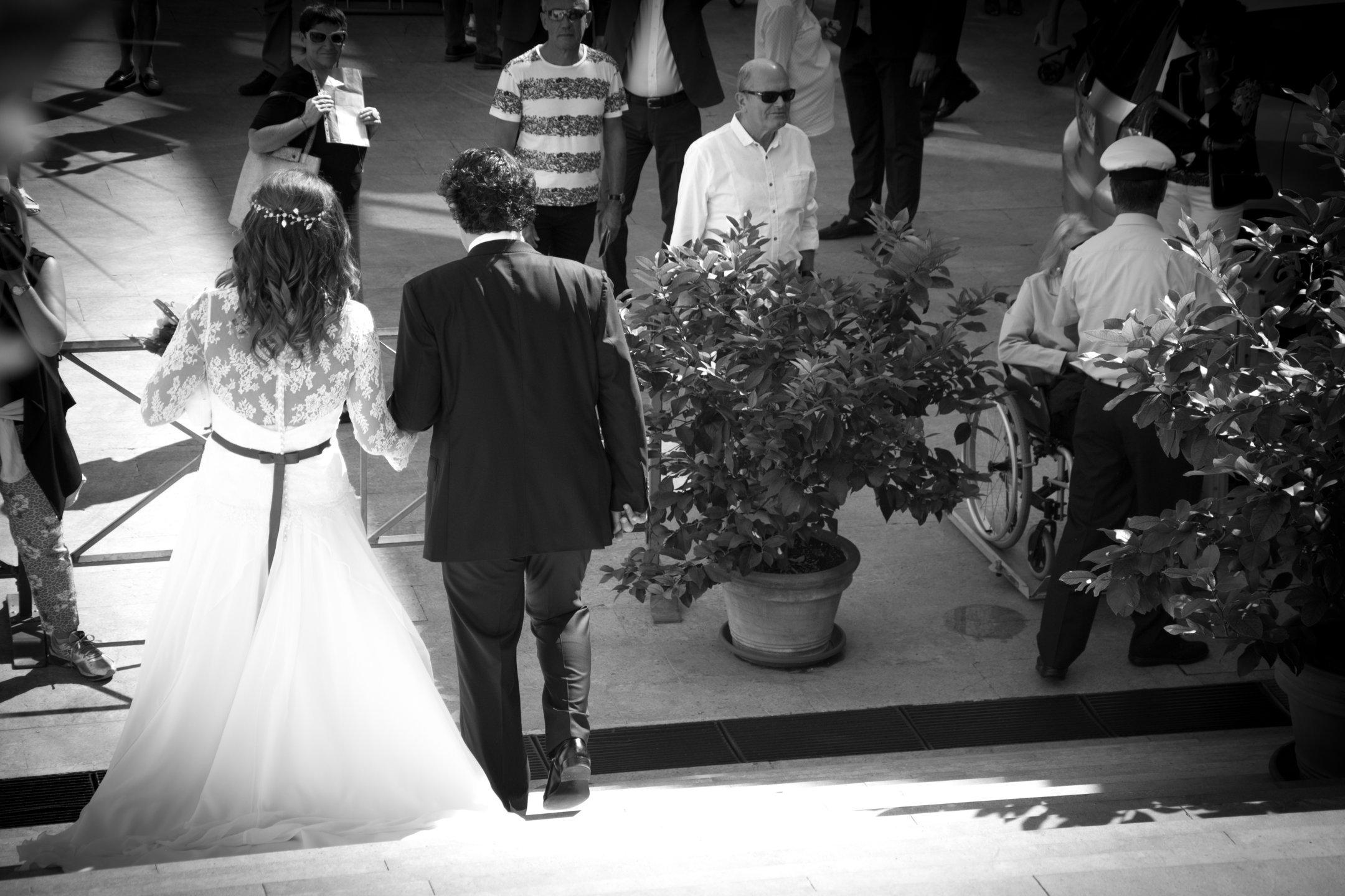 Sposi camminano
