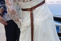Sposa di schiena