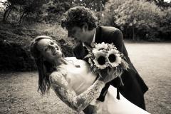 Sposi contenti