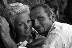 Sposi in bianco e nero