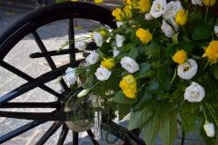 Carrozza con fiori