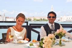 Sposi a tavola
