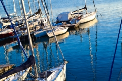 Barche sul mare